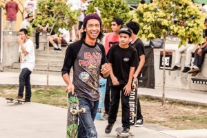 skateboarders in KL