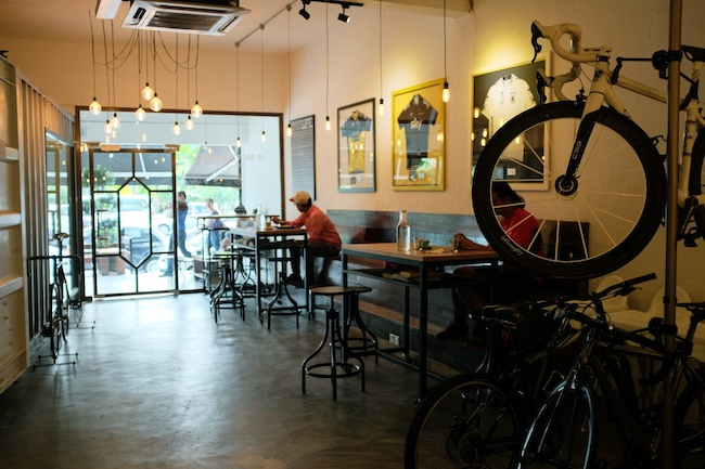 The Grumpy Cyclist café TTDI
