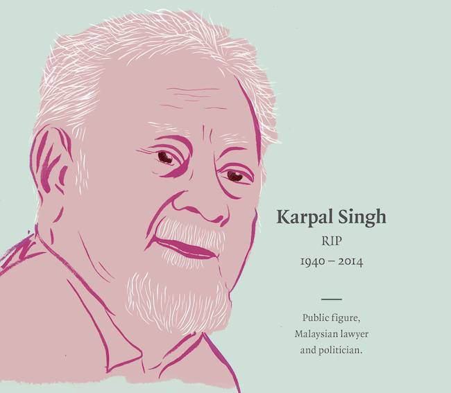 a letter to karpal singh from a young lawyer poskod malaysia