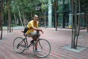 Jeffrey Lim of Village Bicycles. Photo: Mabel Ho.