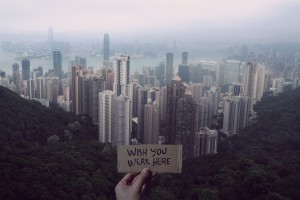 wishyouwerehere(VictoriaPeak,HK)