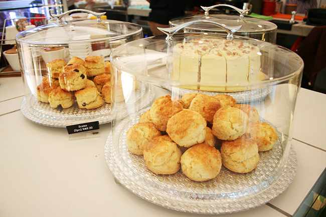 Scones. Photo: Lyn Ong.