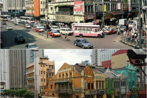 The intersections of Jalan Tun Tan Cheng Lock and Jalan Petaling