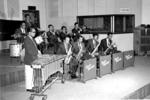 Radio Malaya band with Alfonso Soliano